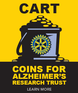 CART – Coins for Alzheimer's Research Trust. Click here to learn more.